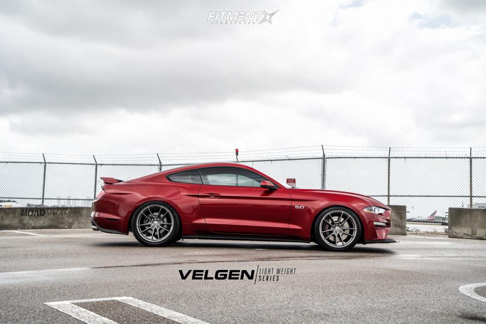 2018 Ford Mustang Velgen Vf5 Eibach Lowering Springs
