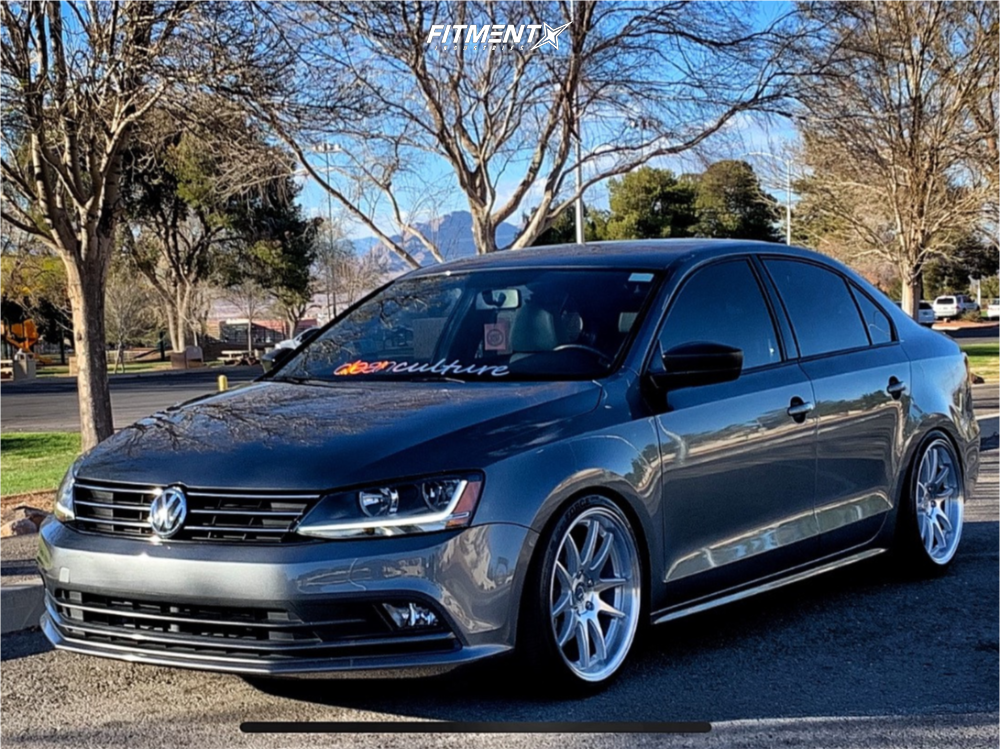 1 2017 Jetta Volkswagen S Raceland Coilovers Aodhan Ds02 Silver
