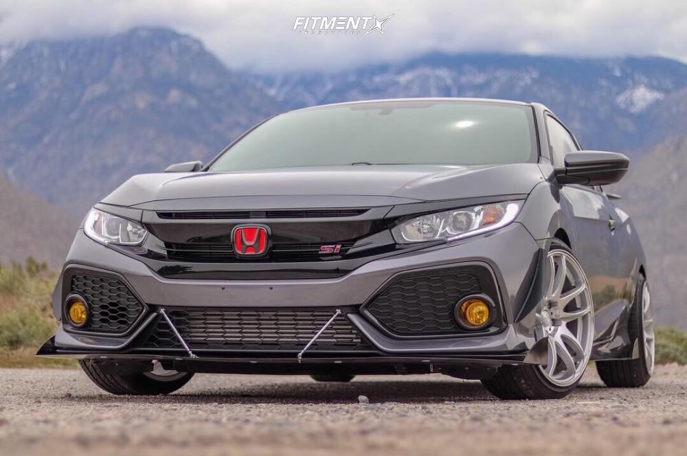 1 2018 Civic Honda Si Eibach Lowering Springs Esr Sr08 Machined