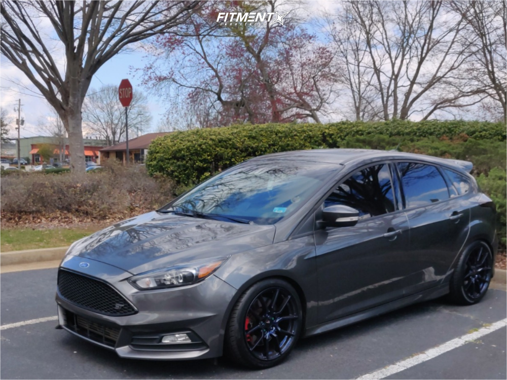 1 2016 Focus Ford St Bc Racing Coilovers Option Lab R716 Blue
