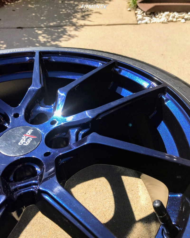 12 2016 Focus Ford St Bc Racing Coilovers Option Lab R716 Blue