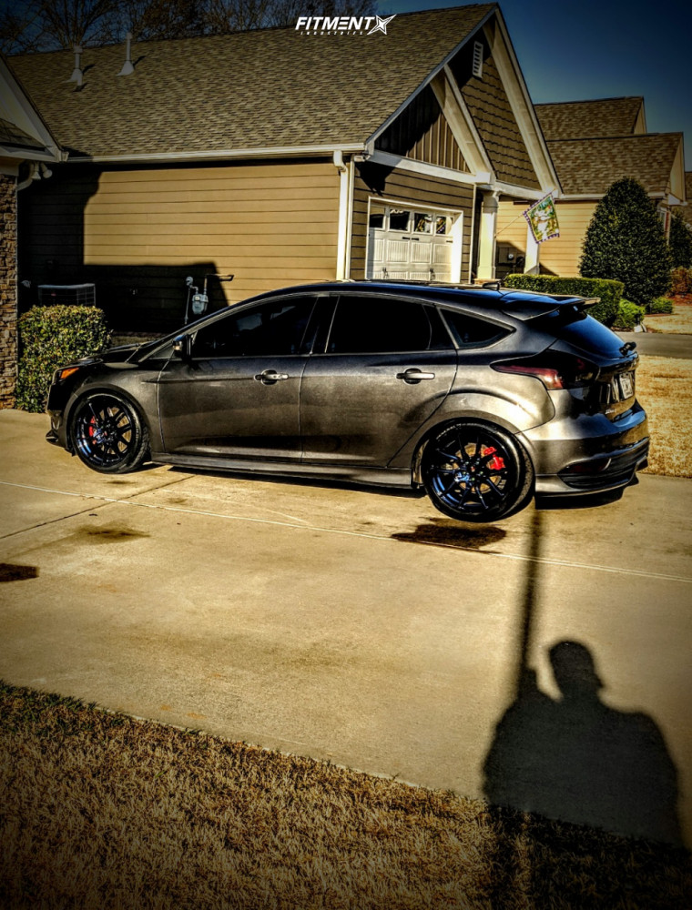 14 2016 Focus Ford St Bc Racing Coilovers Option Lab R716 Blue