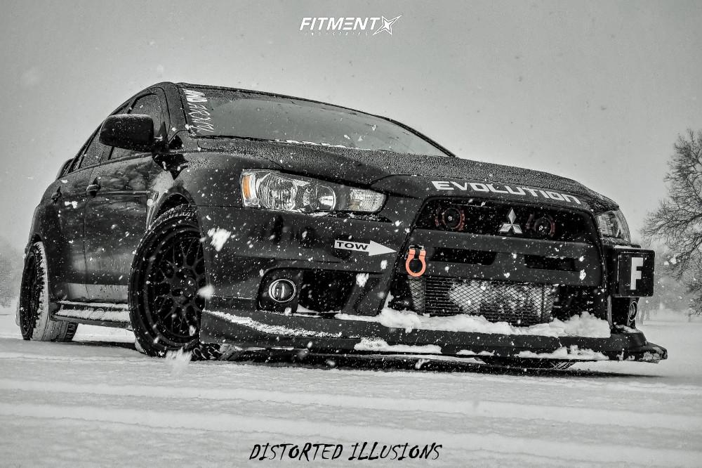 14 2012 Lancer Mitsubishi Evolution Gsr Hr Lowering Springs Aodhan Ah02 Black
