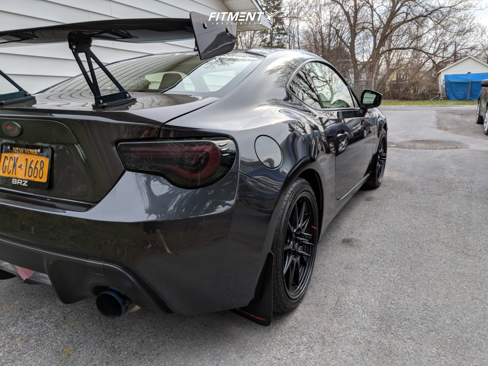 Nearly Flush 2016 Subaru BRZ with 18x8.5 Konig Dekagram and Federal Ss595 225/35 on Stock Suspension - Fitment Industries Gallery