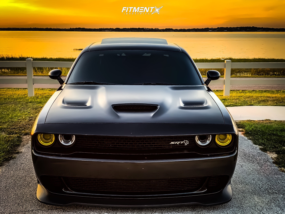 2 2016 Challenger Dodge Srt Hellcat Air Lift Performance Air Suspension Xxr 565 Matte Black