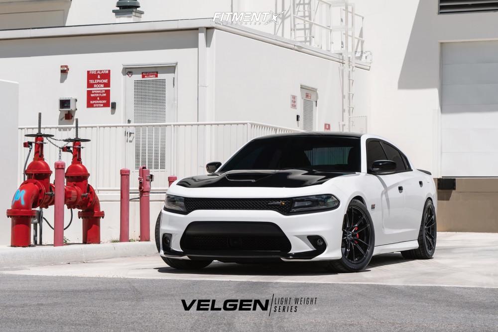 1 2018 Charger Dodge Srt 392 Eibach Lowering Springs Velgen Vf5 Black