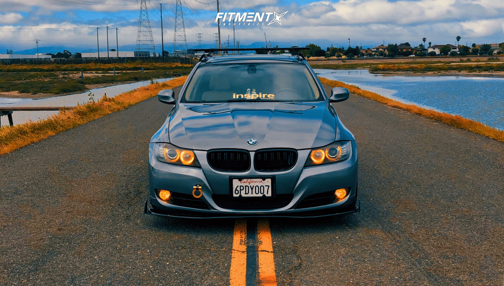 2 2009 335i Bmw Base Fk Streetline Coilovers Aodhan Ah02 Machined