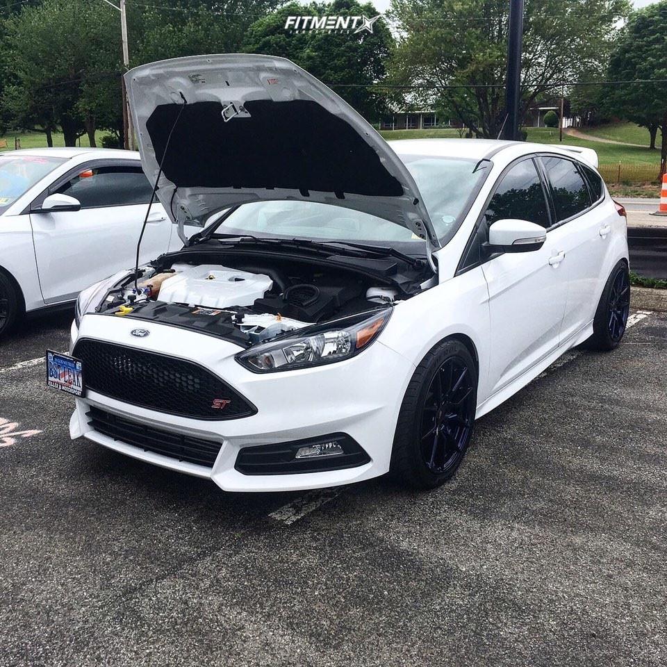 1 2017 Focus Ford St Hr Lowering Springs Option Lab R716 Blue
