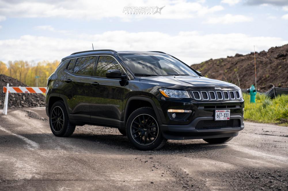 2019 Jeep Compass Black Rims