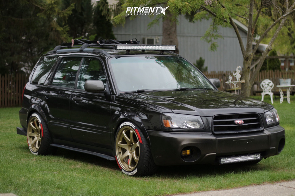 1 2003 Forester Subaru Xs Tein Coilovers Xxr 551 Gold