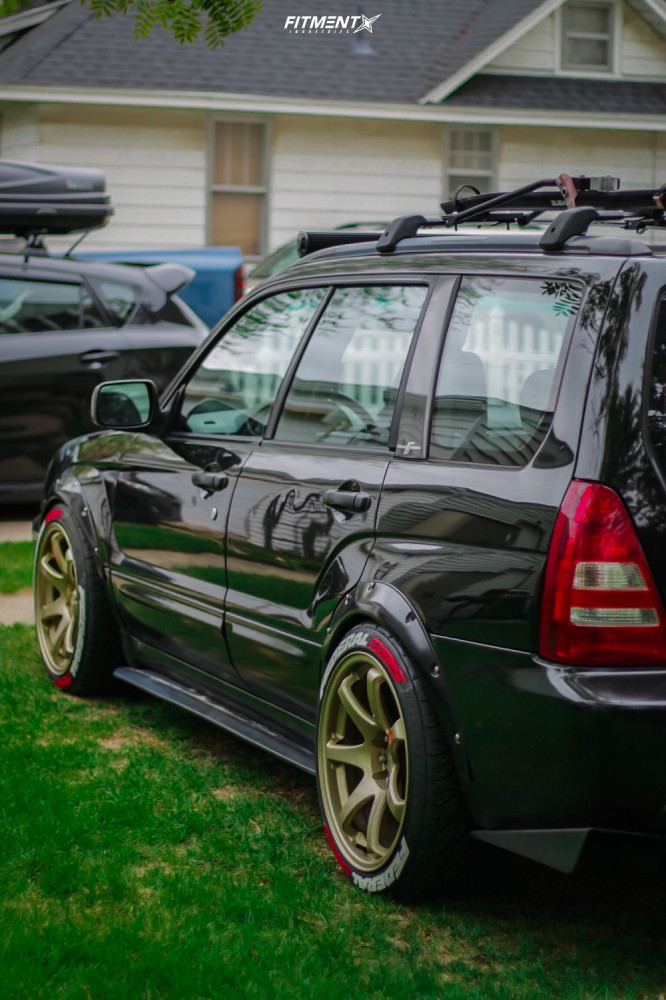 3 2003 Forester Subaru Xs Tein Coilovers Xxr 551 Gold