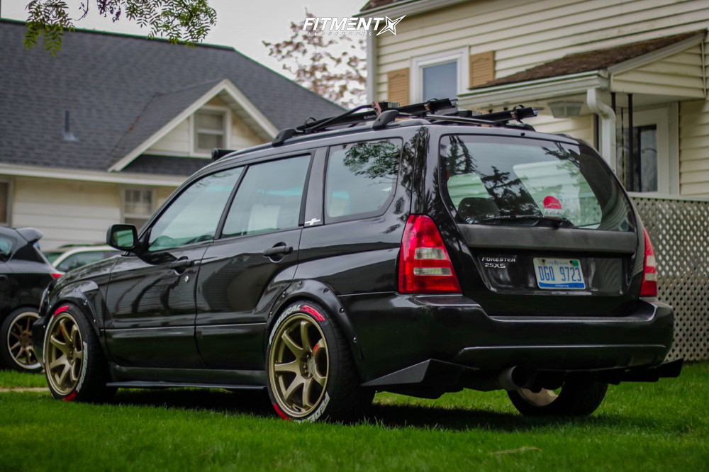 4 2003 Forester Subaru Xs Tein Coilovers Xxr 551 Gold