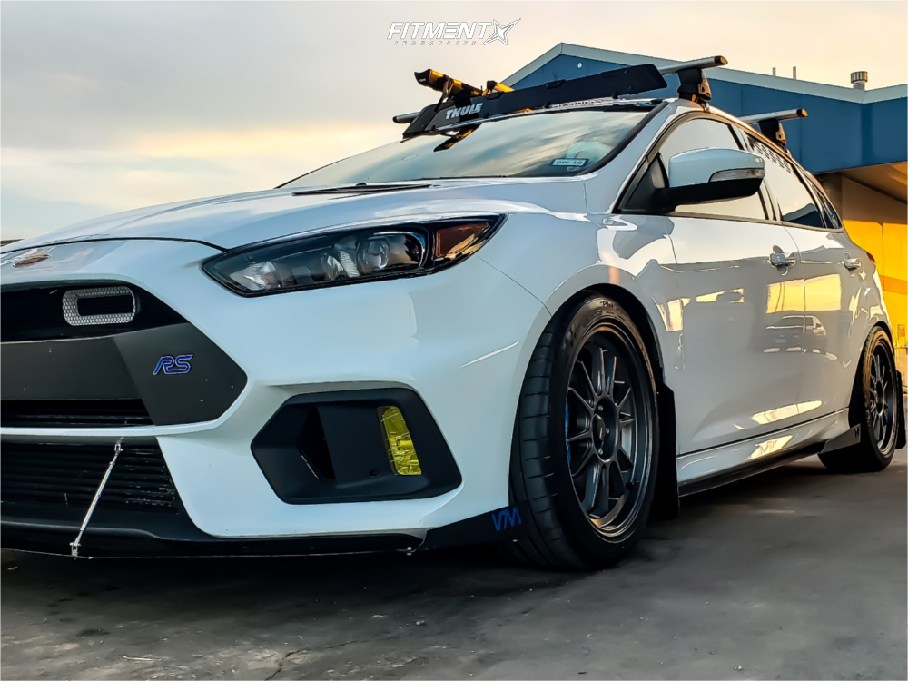 1 2017 Focus Ford Rs Bc Racing Coilovers Konig Hypergram Matte Black
