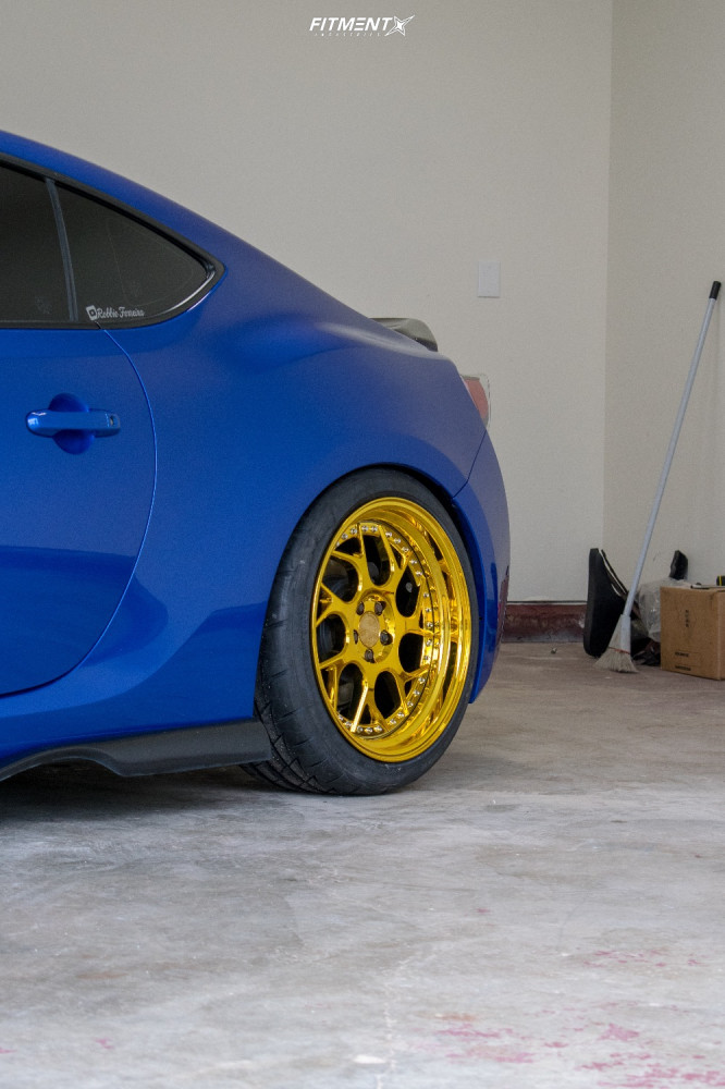 10 2016 Brz Subaru Sport Tech Isc Coilovers Aodhan Ds01 Gold