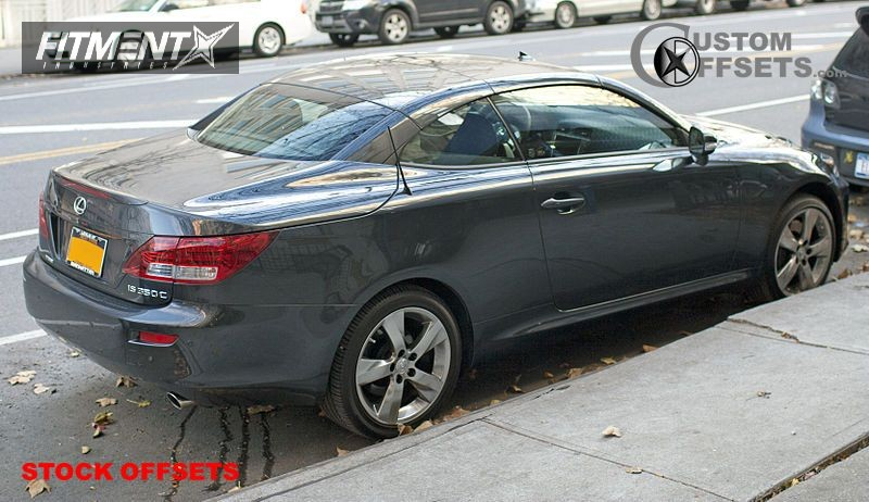 2009 Is 350 Lexus 4dr Sedan 35l 6cyl 6a Stock Stock Stock Silver Tucked 0742 1