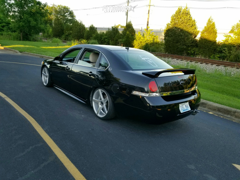 2009 Chevrolet Impala Ls With 19x8 5 Jnc Jnc026 And Achilles 215x35 On Coilovers 722574 Fitment Industries