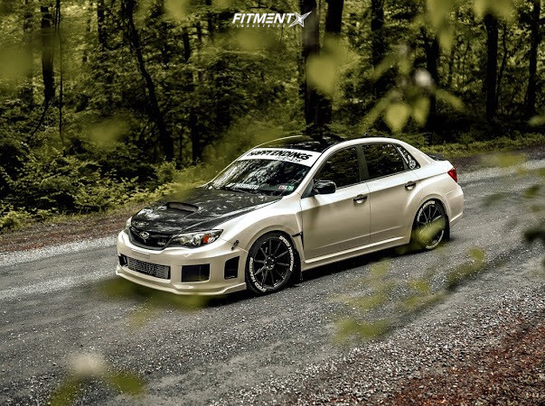 WRX with Raceland Coilovers