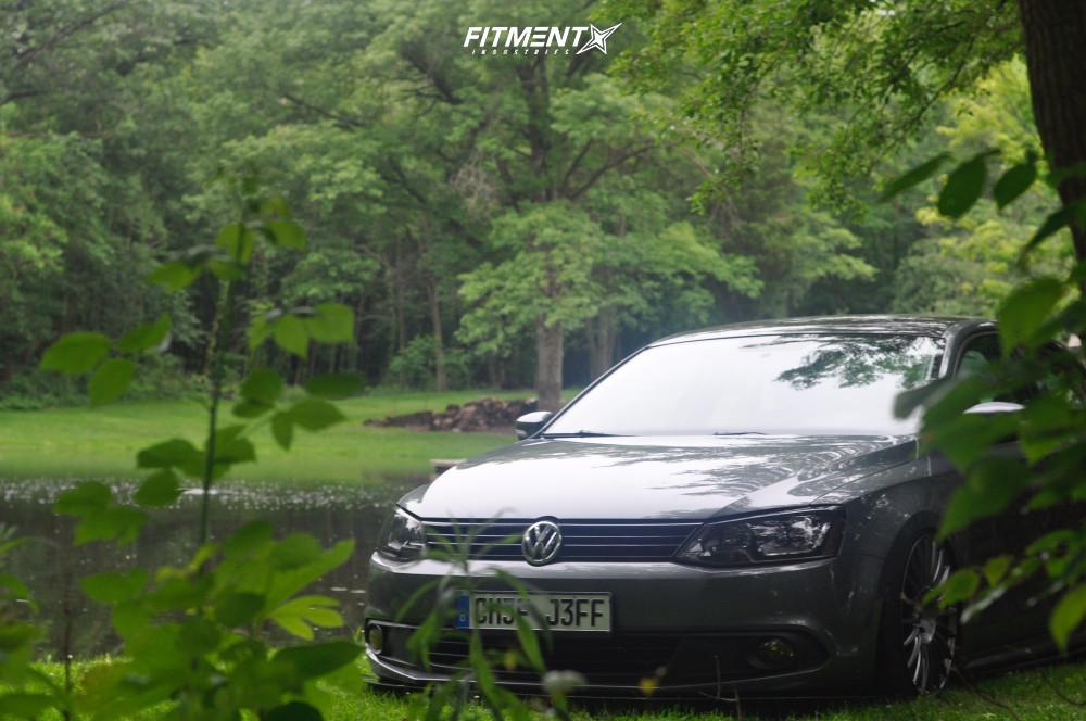 14 2014 Jetta Volkswagen Se Air Lift Performance Air Suspension Rotiform Buc Anthracite