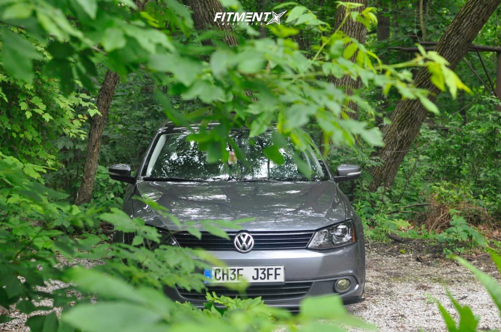 2 2014 Jetta Volkswagen Se Air Lift Performance Air Suspension Rotiform Buc Anthracite