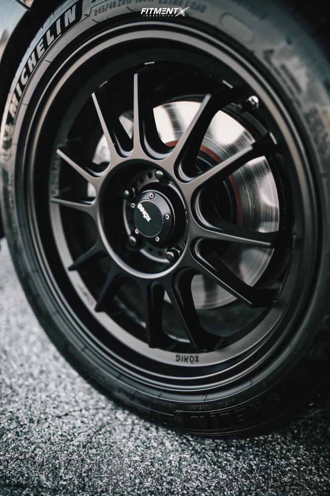 12 2013 Civic Honda Si Bc Racing Coilovers Konig Hypergram Matte Black