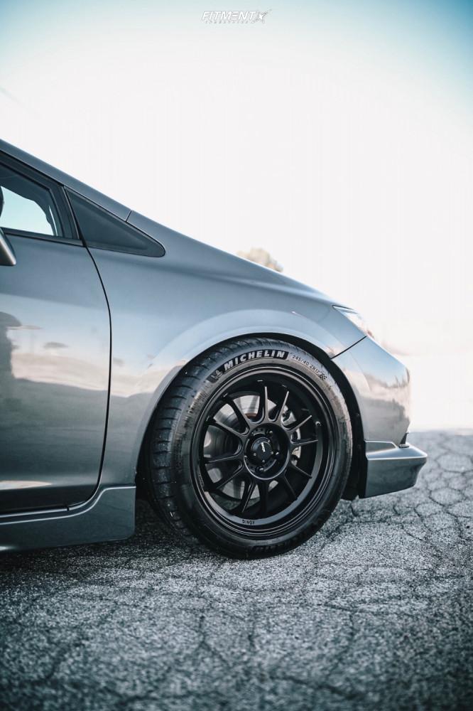9 2013 Civic Honda Si Bc Racing Coilovers Konig Hypergram Matte Black