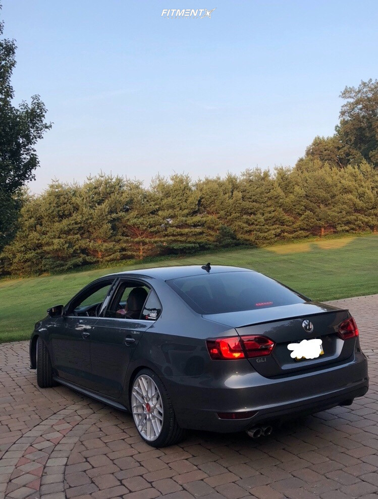 4 2012 Jetta Volkswagen Gli Hr Lowering Springs Rotiform Rse Silver