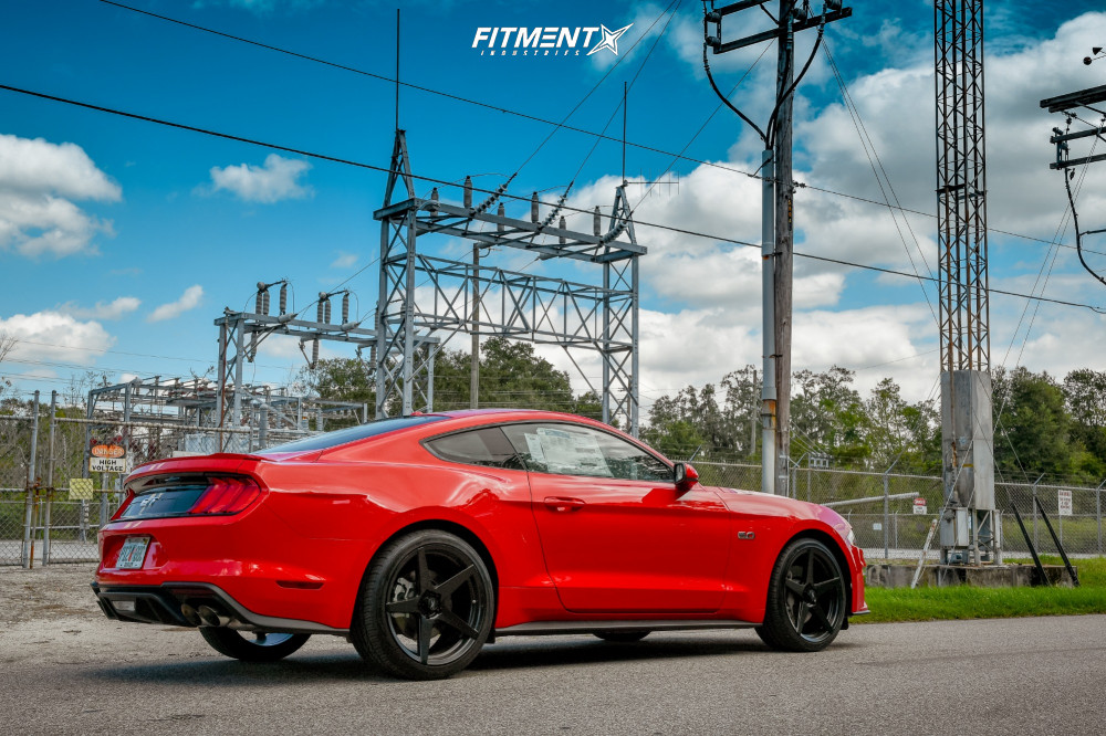 14 2018 Mustang Ford Gt Stock Stock Fathom Stern Black
