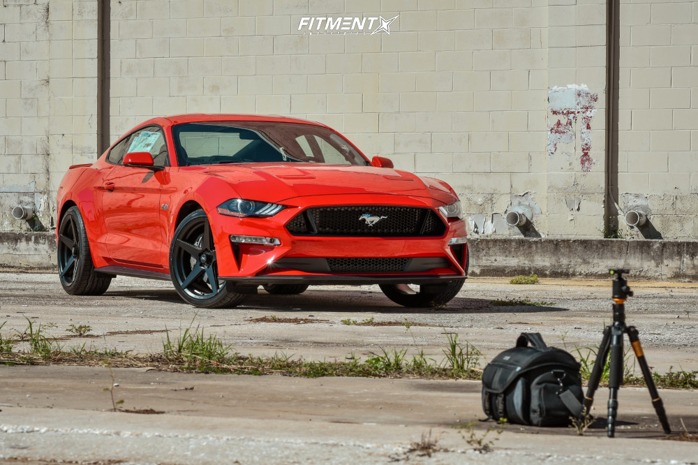 15 2018 Mustang Ford Gt Stock Stock Fathom Stern Black