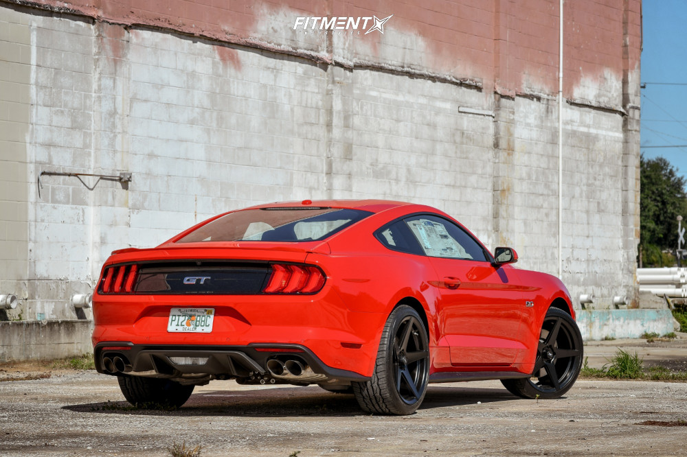 4 2018 Mustang Ford Gt Stock Stock Fathom Stern Black