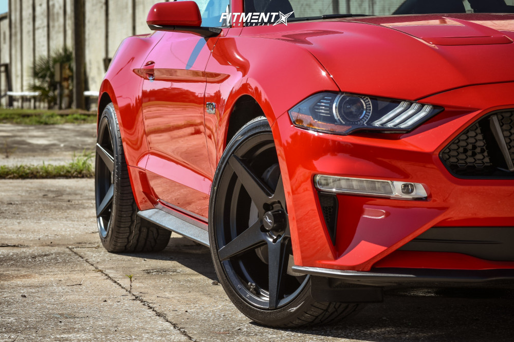 8 2018 Mustang Ford Gt Stock Stock Fathom Stern Black