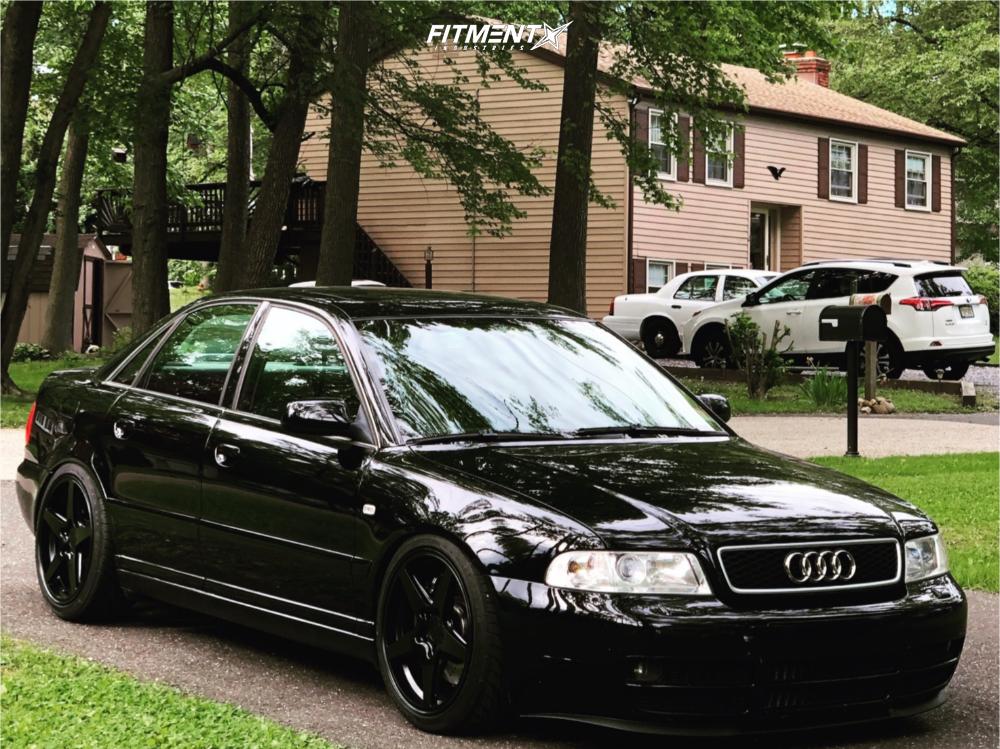 1 2002 S4 Audi Base Kw Coilovers Rotiform Wgr Black