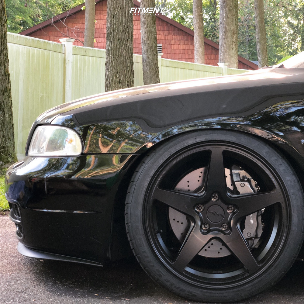5 2002 S4 Audi Base Kw Coilovers Rotiform Wgr Black