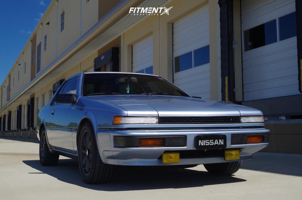 1 1986 200sx Nissan Xe Custom Lowering Springs Enkei Compe Gunmetal