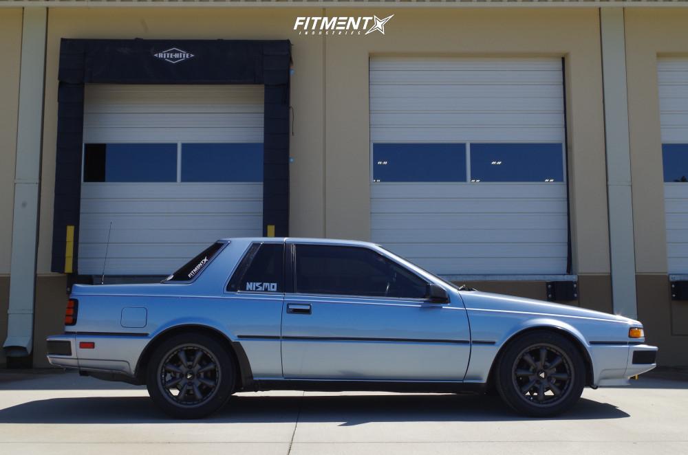14 1986 200sx Nissan Xe Custom Lowering Springs Enkei Compe Gunmetal