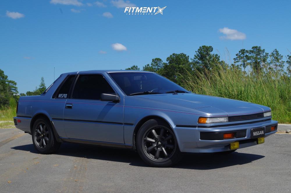 15 1986 200sx Nissan Xe Custom Lowering Springs Enkei Compe Gunmetal