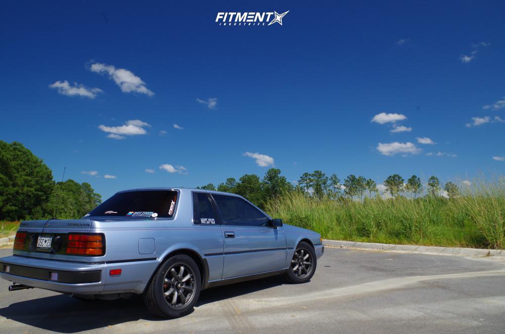 4 1986 200sx Nissan Xe Custom Lowering Springs Enkei Compe Gunmetal