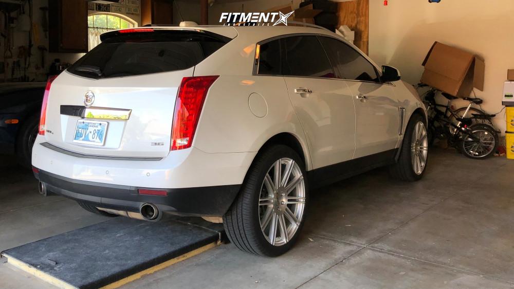 4 2015 Srx Cadillac Premium Stock Stock Kmc Km707 Silver