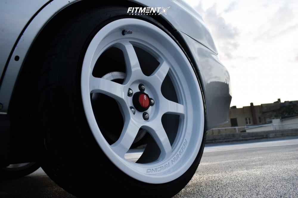 9 2003 Impreza Subaru Wrx Raceland Coilovers Aodhan Ah08 White