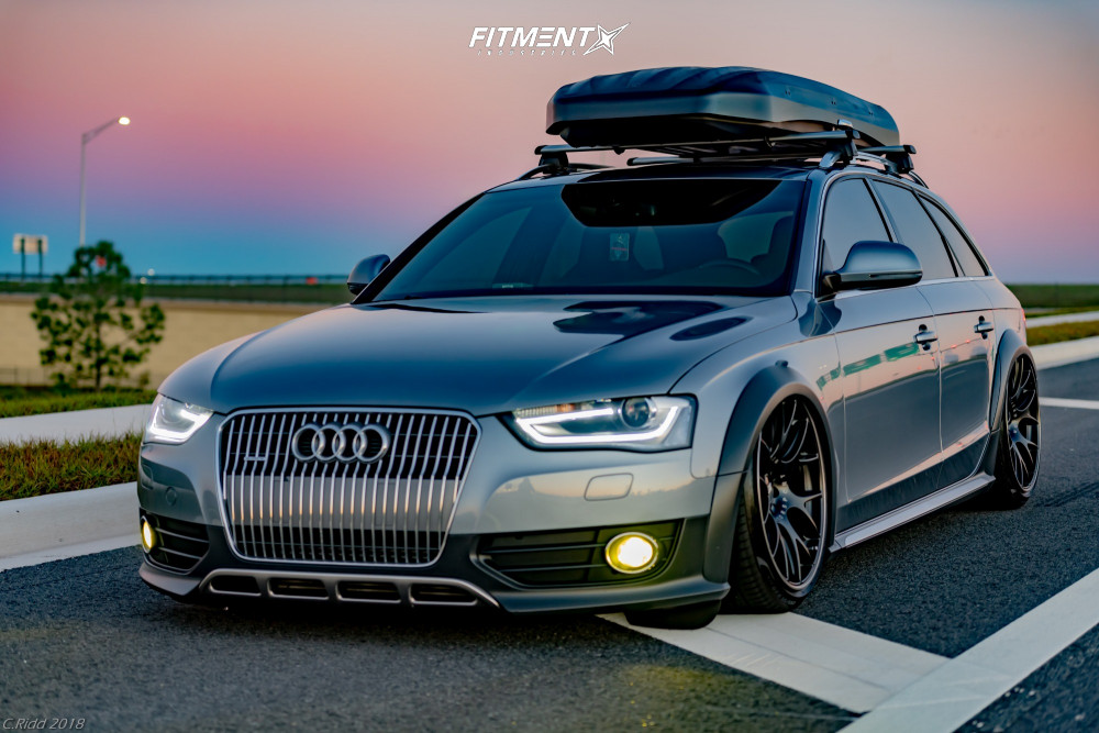 1 2016 A4 Allroad Audi Premium Plus Air Lift Performance Air Suspension Bbs Ch R Matte Black