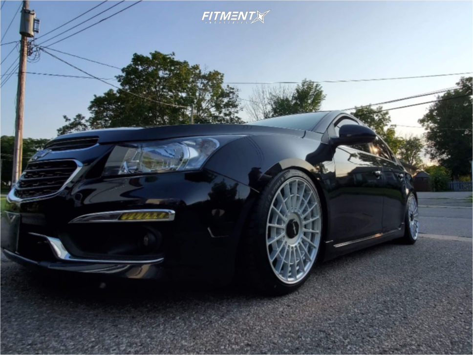 Wheel Offset 2015 Chevrolet Cruze Flush Coilovers Fitment Industries