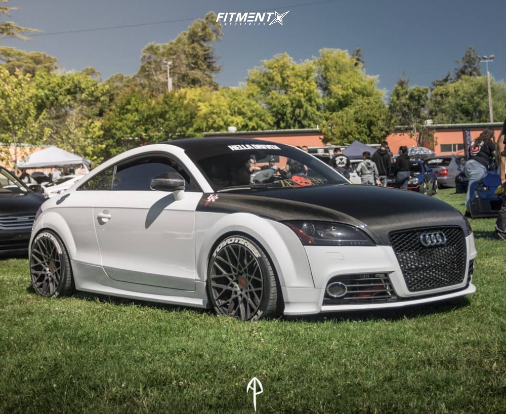 Audi TTS on BC Racing Coilovers