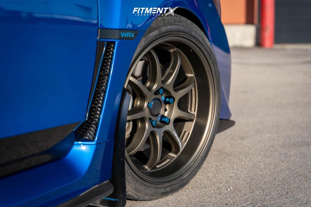Subaru WRX with Work Wheels
