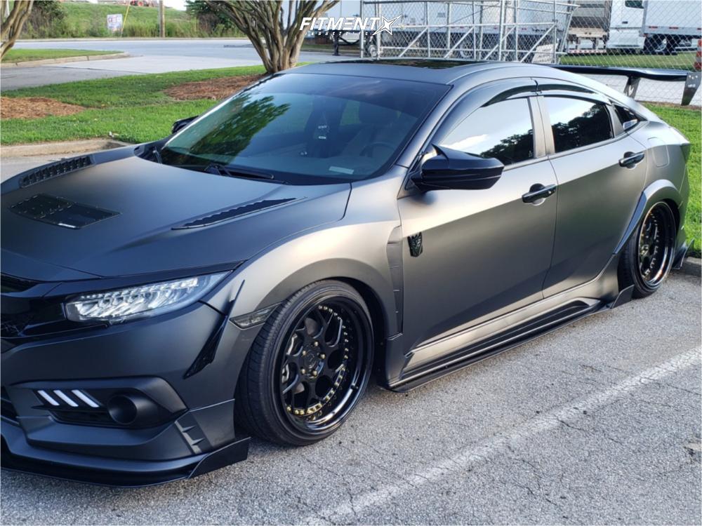 2018 Honda Civic Aodhan Ds01 D2 Racing