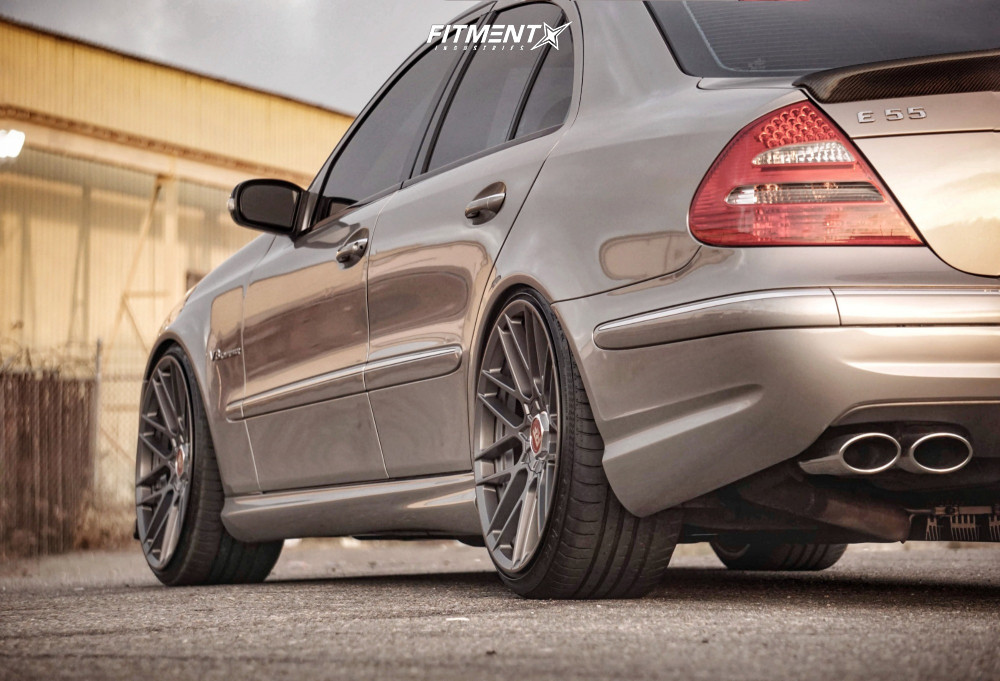 E55 AMG with Rotiform wheels