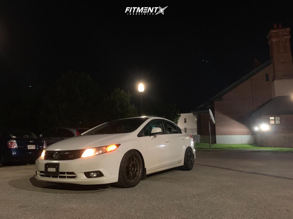16 2012 Civic Honda Si Godspeed Project Coilovers Konig Hypergram Bronze