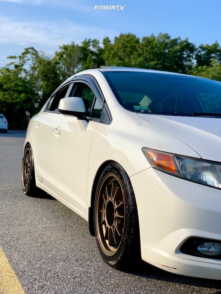 5 2012 Civic Honda Si Godspeed Project Coilovers Konig Hypergram Bronze