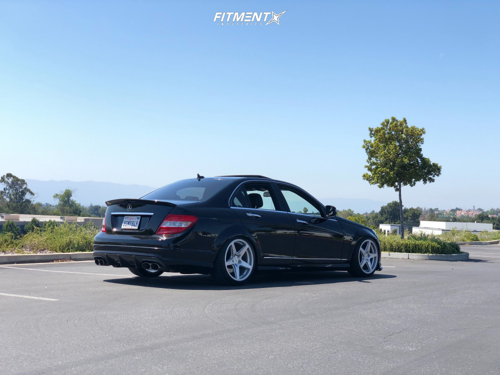 1 2008 C300 Mercedes Benz Base Bc Racing Coilovers Rotiform Wgr Silver