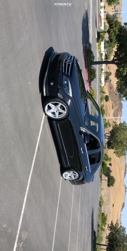 14 2008 C300 Mercedes Benz Base Bc Racing Coilovers Rotiform Wgr Silver