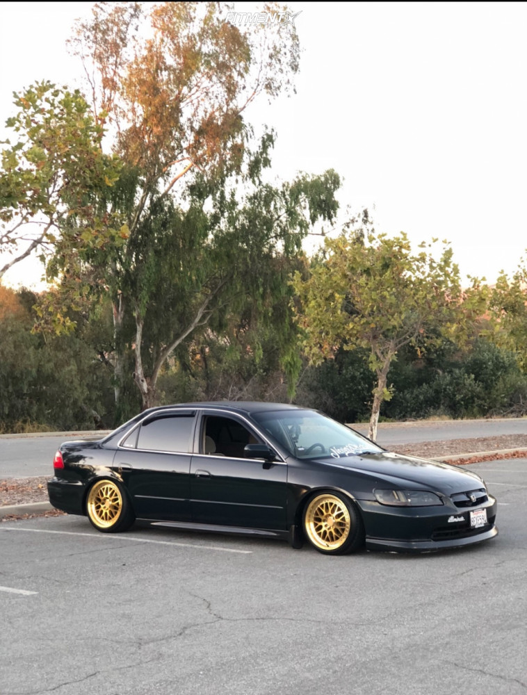 9 1998 Accord Honda Lx Function And Form Coilovers Aodhan Ah02 Gold