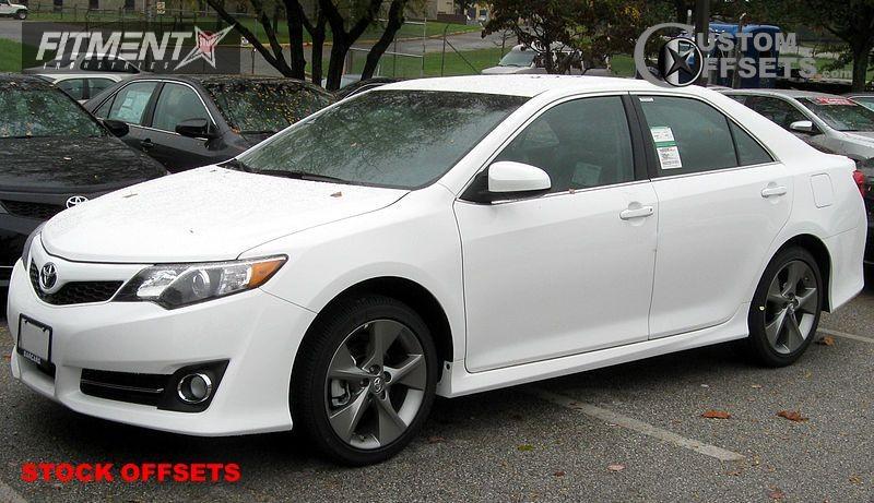 2012 Camry Toyota Se 4dr Sedan 35l 6cyl 6a Stock Stock Stock Black Gunmetal Tucked 4132 1